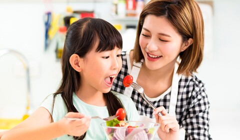 Eating tips for your growing child
